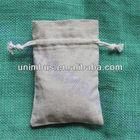small linen cloth product bag