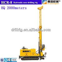 Track mounted diamond core drilling rig HCR-8