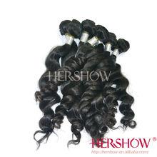 S1BL00J 5A grade 100% natural human hair extension high feedback virgin Brazilian hair weave