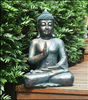 Big resin buddha figure for garden decoration.