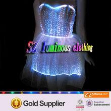 Sexy wedding night dresses / RGB LED cothing / luminous clothing