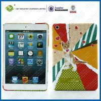 C&T Popular hot sale TPU Cat pattern smart cover for ipad mini