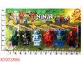 shantou farah nuevo juguetes mini ninja conjunto de armas de juguete de plástico fresco ninja de juguete