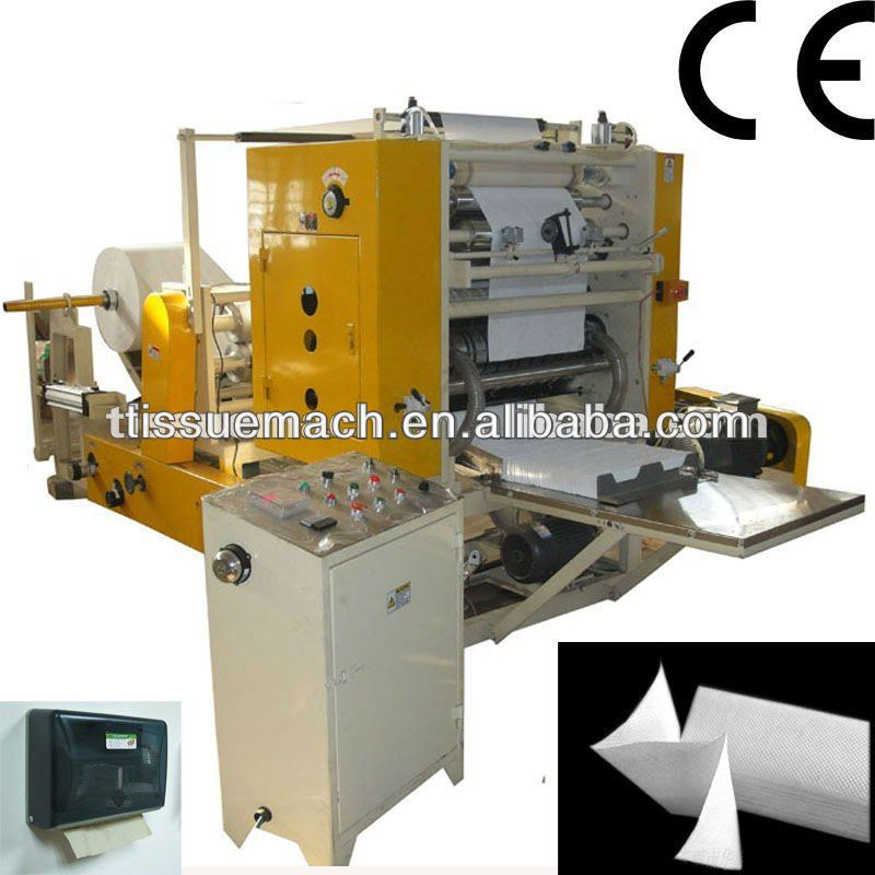 Fastest New Design Automatic High Speed Embossing Hand Towel Machine