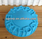birthday cake model with 100% silicone material