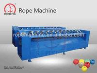 Rope net Industrial, Semi-Automatic Jute/ Sisal Twine ball winding machine(Multi-heads)