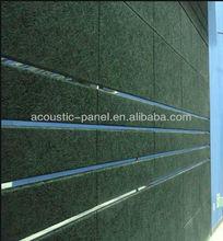 2013 Eco-friendly wood fiber acoustic panels for recording studio/auditorium
