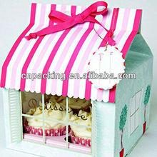 beautiful kraft paper box for birthday cake packing