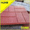 Recycled rubber stone pavers for walkways, driveways, patios