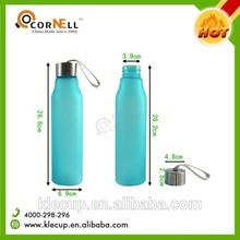 water bottle with filter Sport water plastic bottle active carbon filter bottle