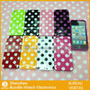 Fashion polka dots TPU case for iphone5 5g, wholesaler