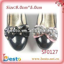 rhinestone beads shoes ornaments 2012