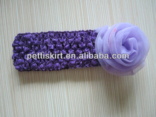Hot Promotio lovely baby Headhand with flower for baby girls