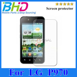 Clear transparent screen protector For LG P970