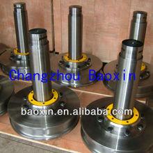 steel material bridge crane wheel with shaft