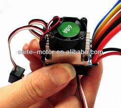 RC brushless esc 60A car sensored Compatible hobbywing esc