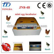 48 chikcen eggs jn8-48 mini portable egg incubator family use