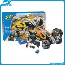 !2012 NEW SDL TRANSCENDER - SELF ASSEMBLED HIGH SPEED RC STUNT CAR new rc toy