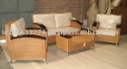INDOOR RATTAN FURNITURE SOFA SET