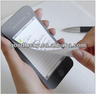 Mini memo pad/shaped note pad/paper pad