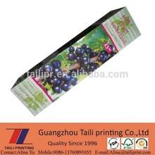 Fruit / Plant / Flower packing box printing *CB20130627-5