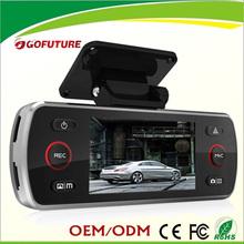 full hd 1080p car dvr sports camera/Dual Lens Vehicle Car Camera Video Recorder DVR