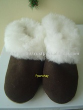 Fur Alpaca Slippers