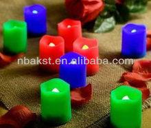 LED flickering votive candle