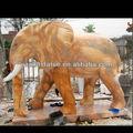 Pedra de mármore elefante ornamento