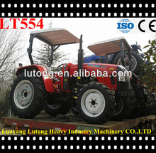 55HP 4WD wheeled tractor with sunshade very populared by client