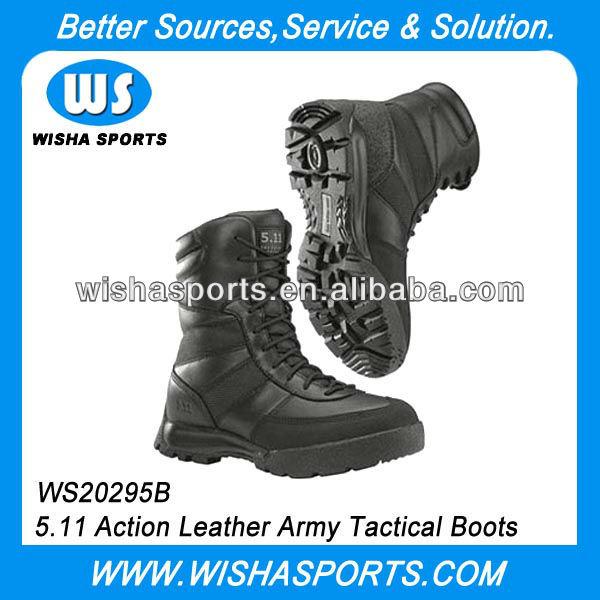 5 11 botas de acción de cuero de combate del ejército botas tácticas