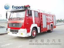 HOWO 4*2 266hp EURO3 low price RHD&LHD fire truck light tower,metal model fire truck/water tanker fire fighting truck/fire truck