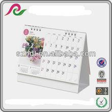 fashoinable Desk paper Calendar Printing