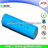 1.5v aa battery 2900mah lithium batteries LFB14505