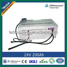 Battery Pack 24V 200Ah LiFePO4