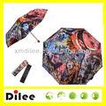 modedesign farbdruck coole bilder drucken faltbare regenschirm