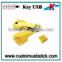 Exclusive good price gold Key usb 8g