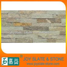 Beautiful rusty slate wall split face stone tile