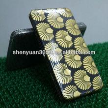 Fashion Customized PU Hinge Purse/Women Metal Frame Wallets/Lady Clutch Bag For USA