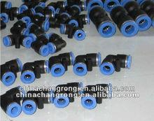 Plastic pneumatic /quick connect fittings/plastic quick coupling