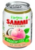 Flavous of Sammi 238ml Peach Juice Drink w / Coconut Pieces