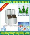 1000kg grande escala fabricante de gelo, comestível de cubo de gelo maker( ce, o preço do fabricante)