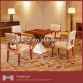 Mesa de comedor y sillas& mesa de madera& hoel mesa de comedor