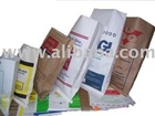 Poly-paper bags (PP bags laminated with Kraft paper)