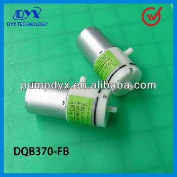DC mini battery operated vacuum pump/vacuum mini pump-DQB370-FB