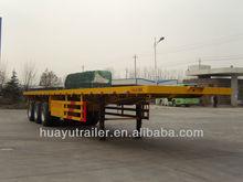 3 axles 40 feet container semi trailer