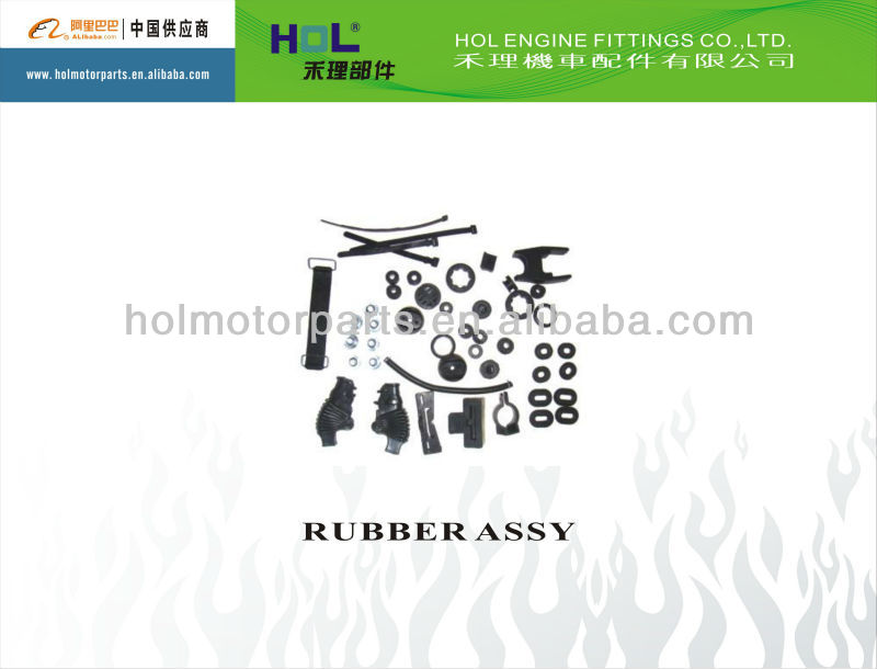 CG125 motorcycle rubber accessories