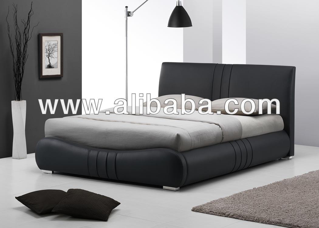 أثاث غرف النوم سرير جلدية فو/ غرفة نوم وسرير( بيوني سرير)