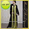 Hot Sale Noble Long Good Quality Chiffon Long Sleeve Muslim Dresses For Women