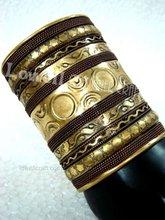 BRASS ANTIQUE cuff link